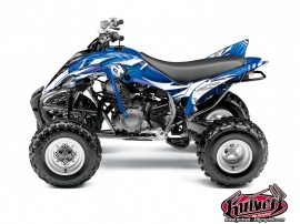 Yamaha 350 Raptor ATV Graff Graphic Kit Blue