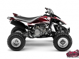 Yamaha 450 YFZ ATV Graff Graphic Kit Red