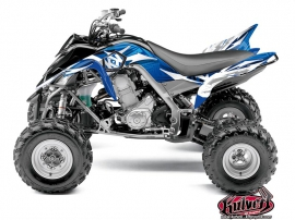 Yamaha 700 Raptor ATV Graff Graphic Kit Blue
