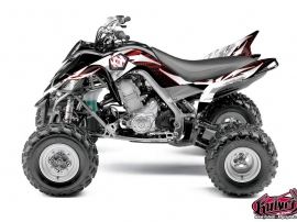 Yamaha 700 Raptor ATV Graff Graphic Kit Red