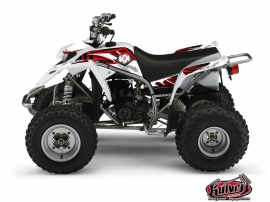 Yamaha Blaster ATV Graff Graphic Kit Red