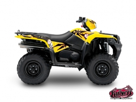 Suzuki King Quad 750 ATV Graff Graphic Kit