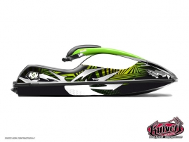 Kawasaki SXR 800 Jet-Ski Graff Graphic Kit Black