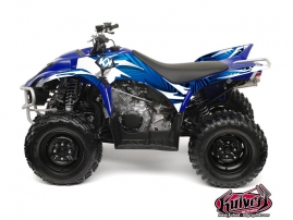 Yamaha 350-450 Wolverine ATV Graff Graphic Kit Blue