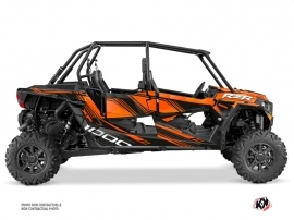 Kit Déco SSV Graphite Polaris RZR 1000 4 portes Orange