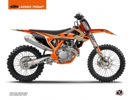 Kit Déco Moto Cross Gravity KTM 125 SX Orange Sable