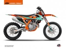 KTM 250 SXF Dirt Bike Gravity Graphic Kit Green