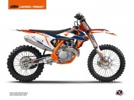 KTM 300 XC Dirt Bike Gravity Graphic Kit Blue