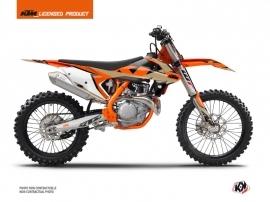 KTM 300 XC Dirt Bike Gravity Graphic Kit Orange Sand