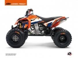 KTM 450-525 SX ATV Gravity Graphic Kit Blue