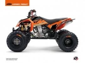 KTM 450-525 SX ATV Gravity Graphic Kit Orange Sand