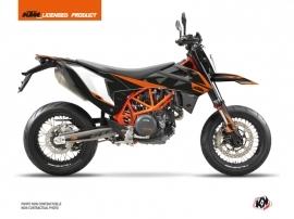 KTM 690 SMC R Street Bike Gravity Graphic Kit Orange