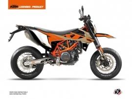 KTM 690 SMC R Street Bike Gravity Graphic Kit Orange Sand