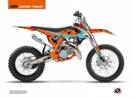 KTM 85 SX Dirt Bike Gravity Graphic Kit Green