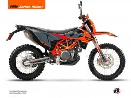 KTM 690 ENDURO R Dirt Bike Gravity Graphic Kit Grey