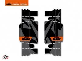 Kit Déco Grilles de radiateur Gravity KTM EXC-EXCF 2017 Orange
