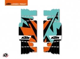 Kit Déco Grilles de radiateur Gravity KTM EXC-EXCF 2017 Vert