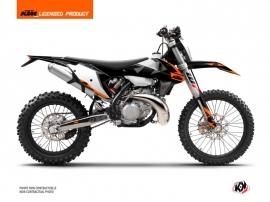 KTM EXC-EXCF Dirt Bike Gravity Graphic Kit Orange