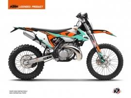 KTM EXC-EXCF Dirt Bike Gravity Graphic Kit Green