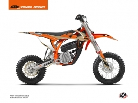 KTM SX-E 5 Dirt Bike Gravity Graphic Kit Orange Sand