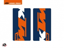 Graphic Kit Fork protection stickers Gravity Dirt Bike KTM SX-SXF EXC-EXCF Blue