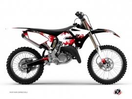 Yamaha 250 YZ Dirt Bike Hangtown Graphic Kit Red