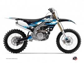 Yamaha 450 YZF Dirt Bike Hangtown Graphic Kit Blue