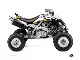 Yamaha 700 Raptor ATV Hangtown Graphic Kit Yellow 60th Anniversary