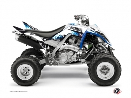 Yamaha 700 Raptor ATV Hangtown Graphic Kit Blue