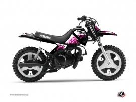 Yamaha PW 50 Dirt Bike Hangtown Graphic Kit Pink