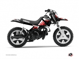 Yamaha PW 50 Dirt Bike Hangtown Graphic Kit Red
