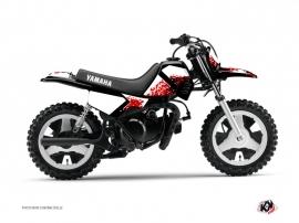 Kit Déco Moto Cross Hangtown Yamaha PW 50 Rouge