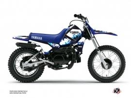 Yamaha PW 80 Dirt Bike Hangtown Graphic Kit Blue