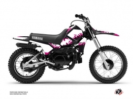 Yamaha PW 80 Dirt Bike Hangtown Graphic Kit Pink