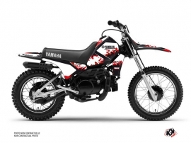 Yamaha PW 80 Dirt Bike Hangtown Graphic Kit Red