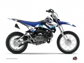 Yamaha TTR 90 Dirt Bike Hangtown Graphic Kit Blue