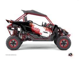 Yamaha YXZ 1000 R UTV Hangtown Graphic Kit Red