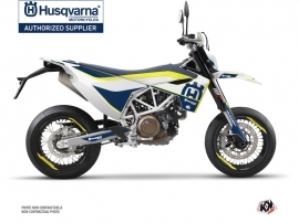 Husqvarna 701 Supermoto Street Bike Heritage Graphic Kit Yellow