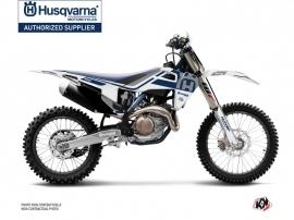 Husqvarna FC 250 Dirt Bike Heritage Graphic Kit White Grey