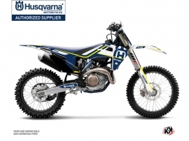 Husqvarna FC 250 Dirt Bike Heritage Graphic Kit Blue White