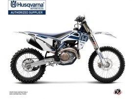 Husqvarna FC 450 Dirt Bike Heritage Graphic Kit White Grey