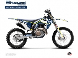 Husqvarna TC 250 Dirt Bike Heritage Graphic Kit Blue White