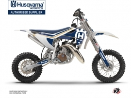 Kit Déco Moto Cross Heritage Husqvarna TC 50 Blanc