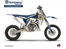 Husqvarna TC 65 Dirt Bike Heritage Graphic Kit Blue