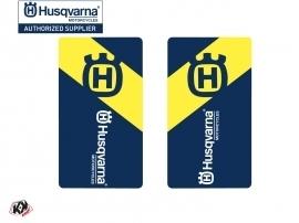 Graphic Kit Fork protection stickers Legend Dirt Bike Husqvarna TC-FC TE-FE Blue