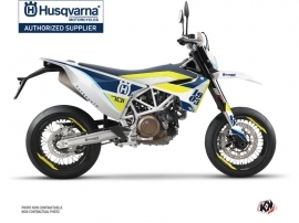Husqvarna 701 Supermoto Street Bike Heyday Graphic Kit Blue Yellow