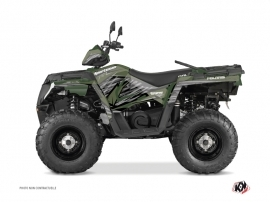 Polaris 570 Sportsman Touring ATV Jungle Graphic Kit Green