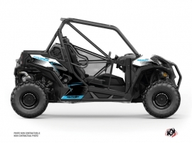 Can Am Maverick Sport UTV Kallin Graphic Kit White Blue