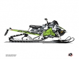 Polaris Axys Snowmobile Kamo Graphic Kit Grey Green