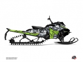 Skidoo Gen 4 Snowmobile Kamo Graphic Kit Grey Green